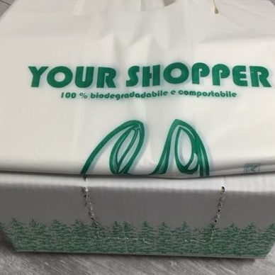 Shopper bio compostabile